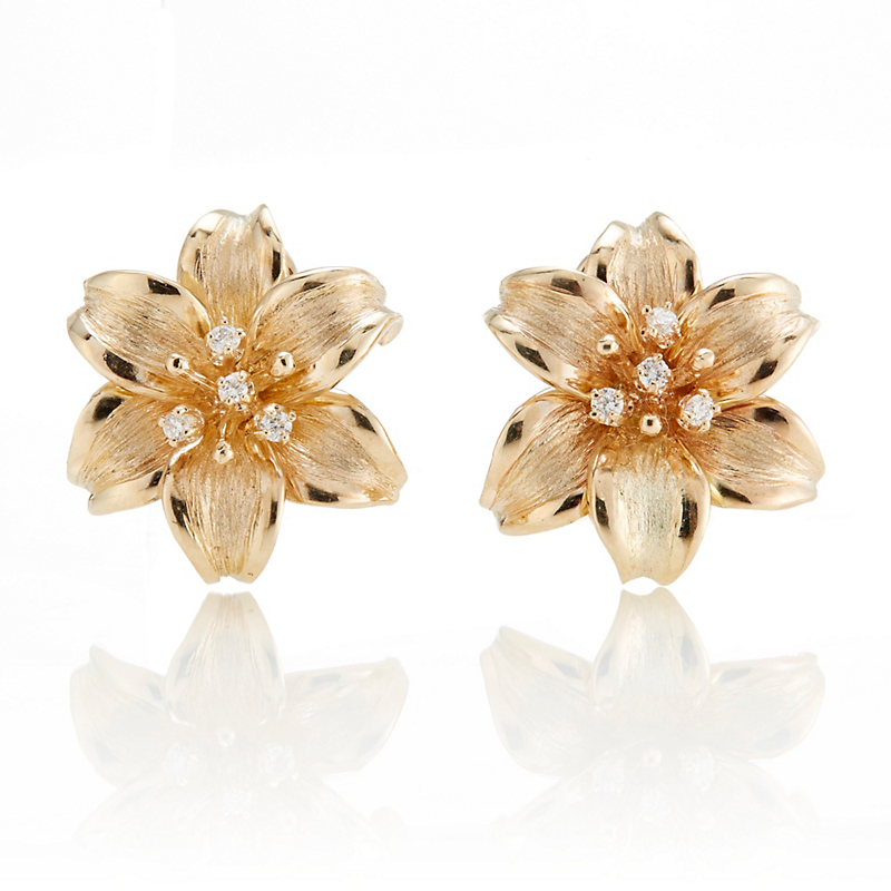 Lily Diamond Earrings
