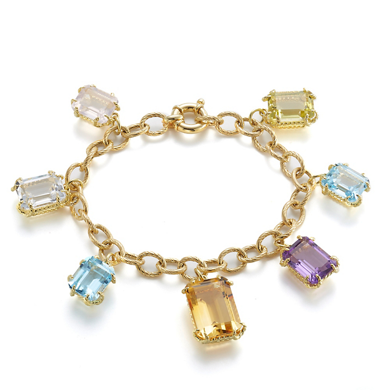 Rock Candy Gold Bracelet