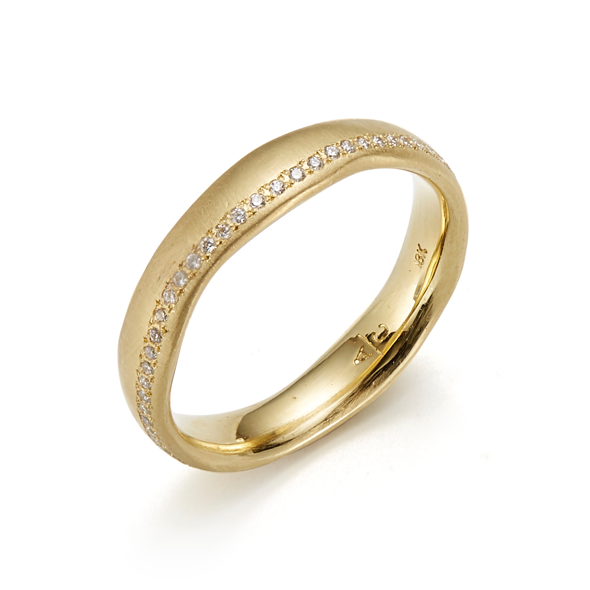Adel Chefridi Diamond Riverbank Eternity Band Ring