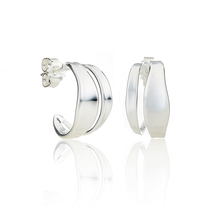 Georg Jensen Marcia Huggie Earrings
