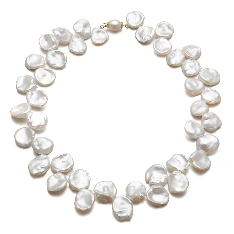 Gump's Petal Pearl Necklace