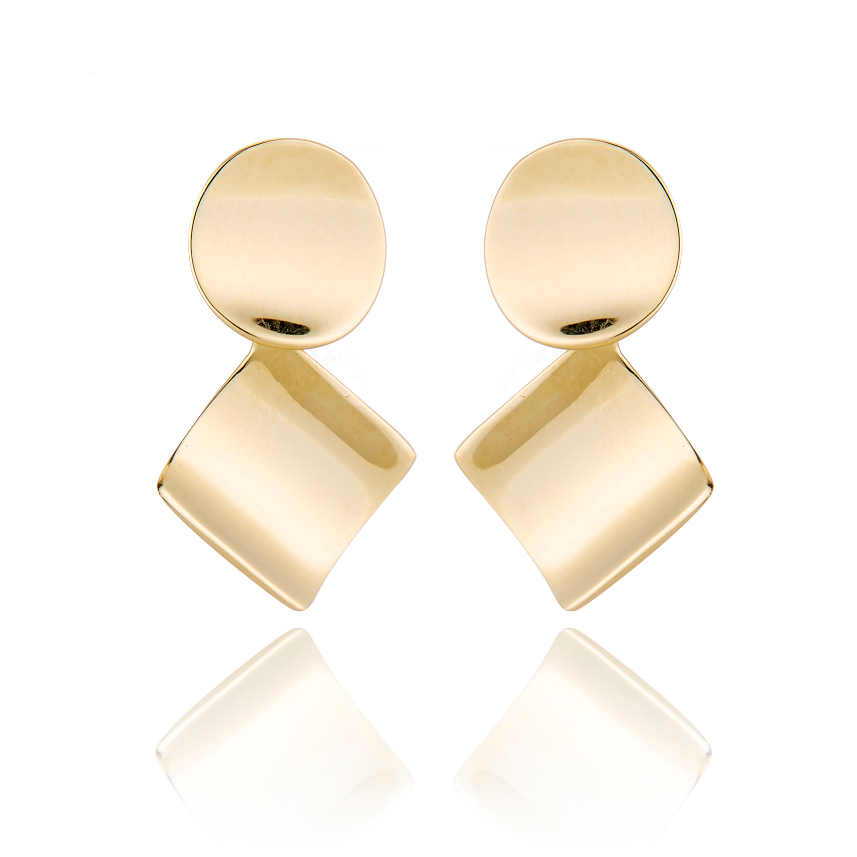 Gump's Concave Geometric Earrings