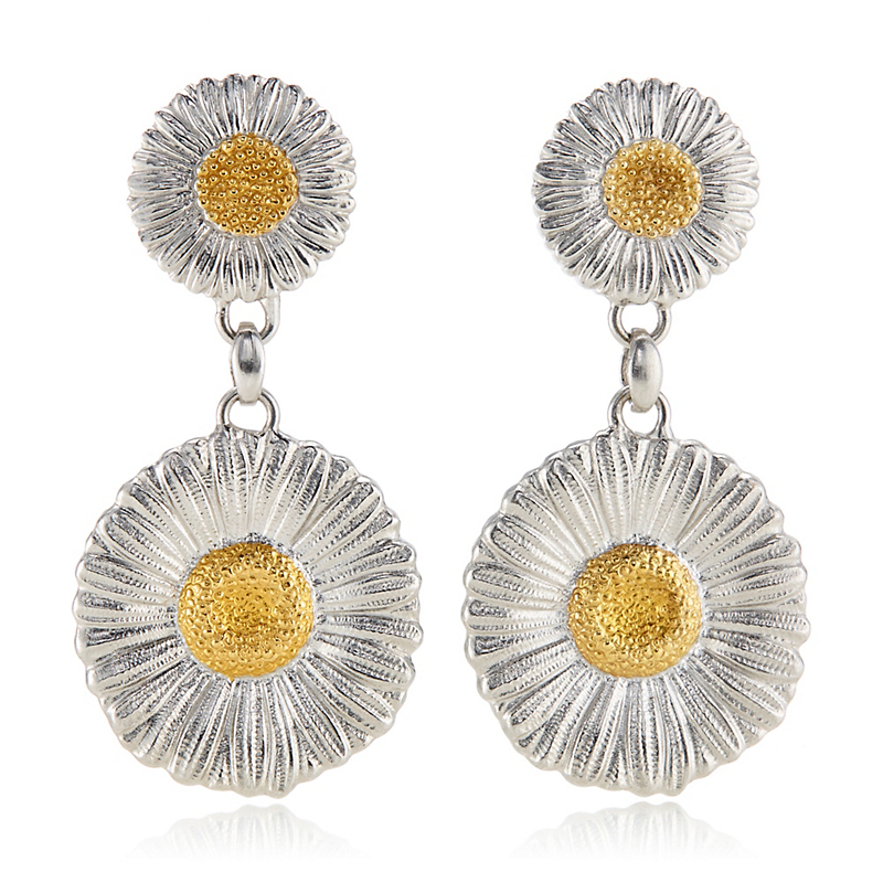 Buccellati Daisy Double Drop Earrings