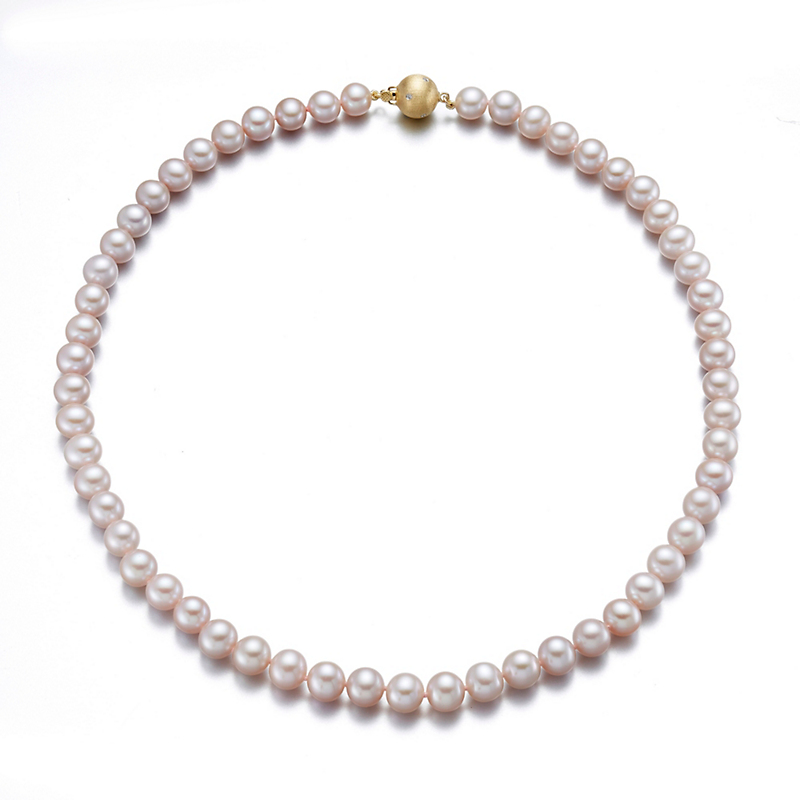 Gump's Pink Freshwater Pearl Necklaces