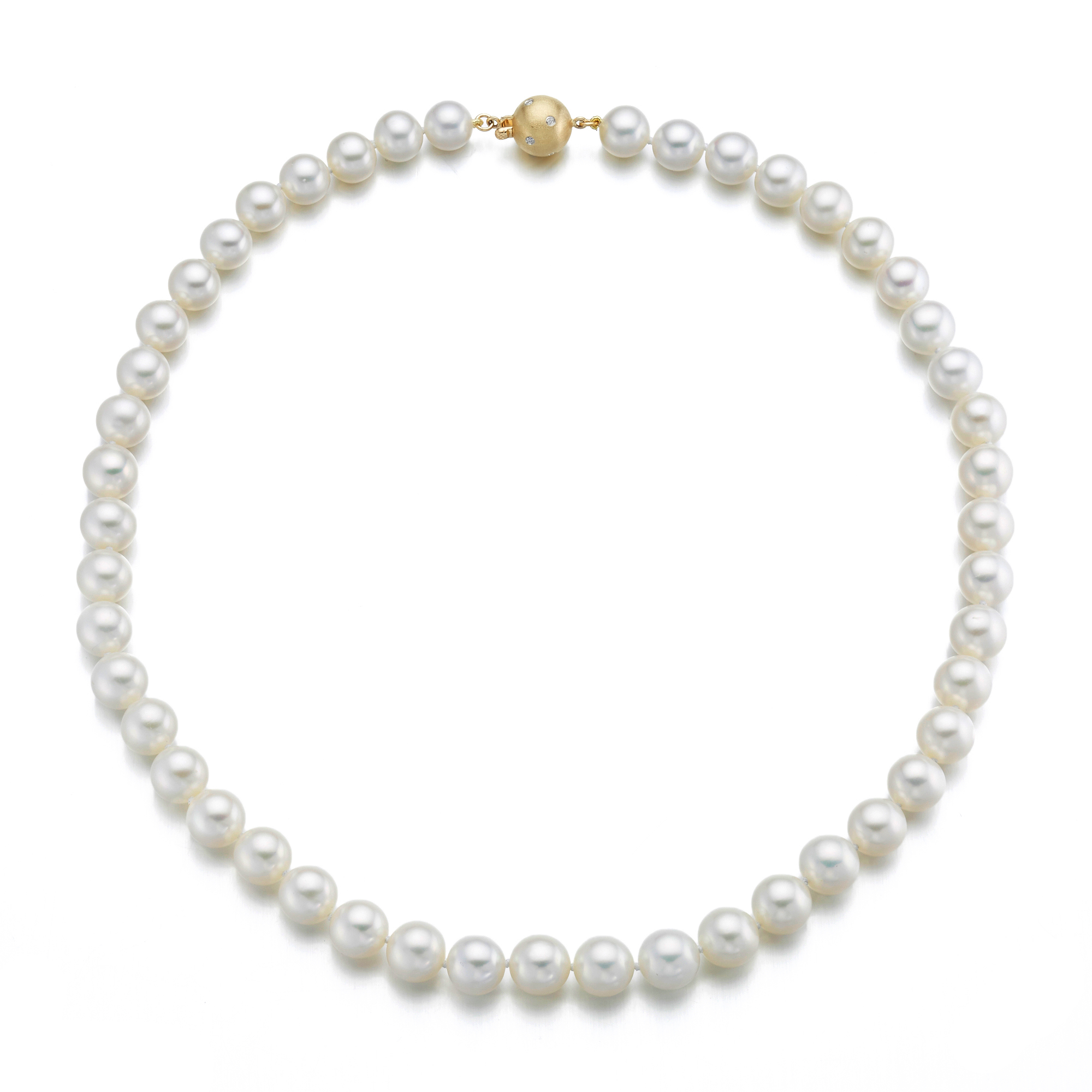 Gump's White Freshwater Pearl Necklaces