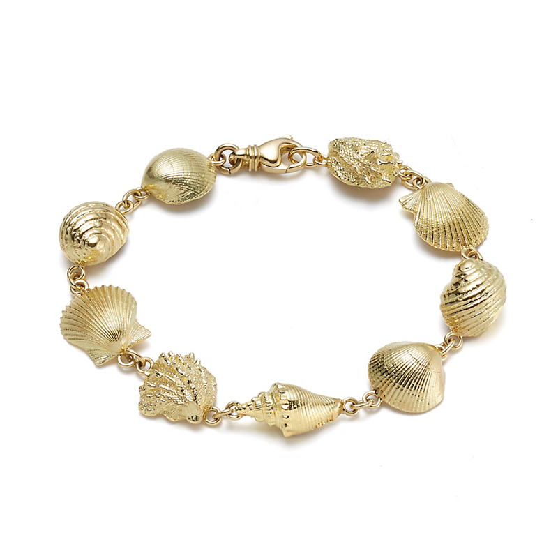 Multi-Seashell Bracelet
