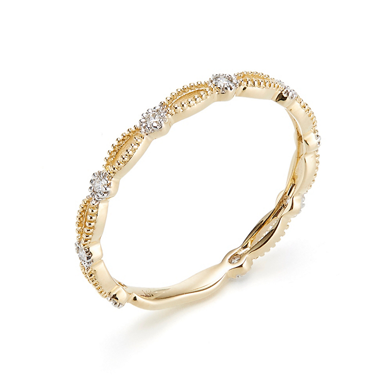 Marquise Openwork Band Ring