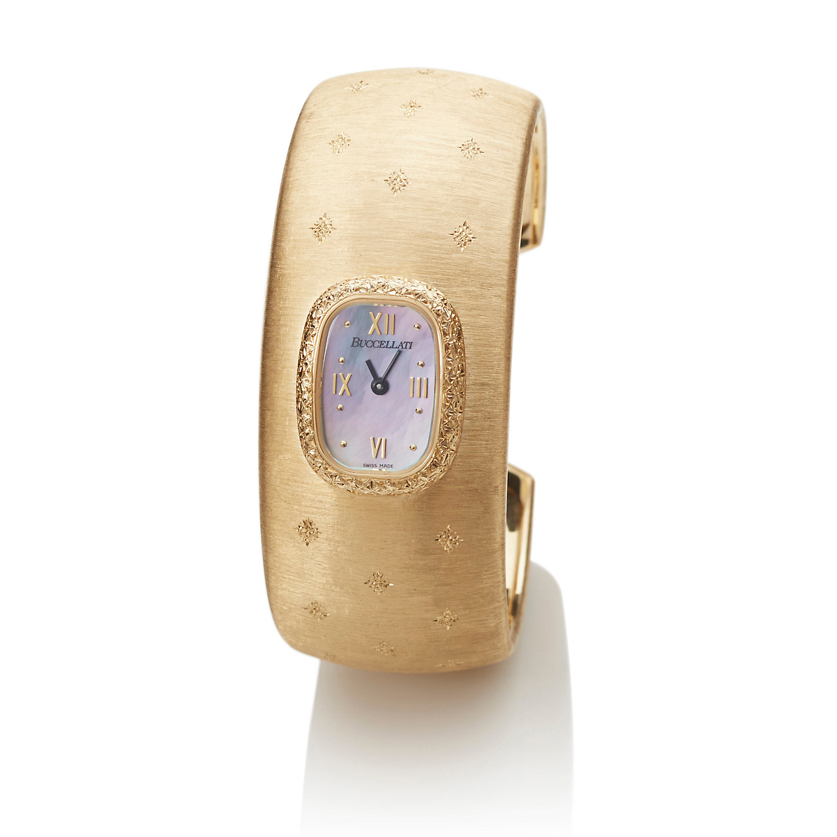 Buccellati Cleopatra Gold Cuff Watch