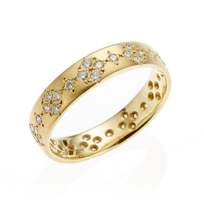 Adel Chefridi Diamond Memories Medium Ring