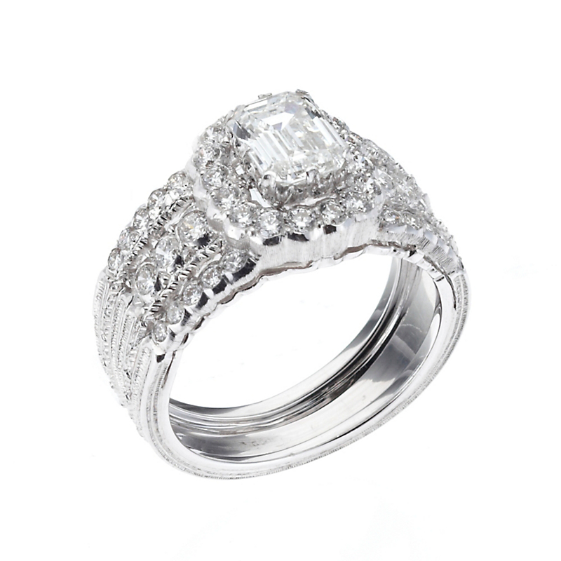 Buccellati Diamond Isotta Ring