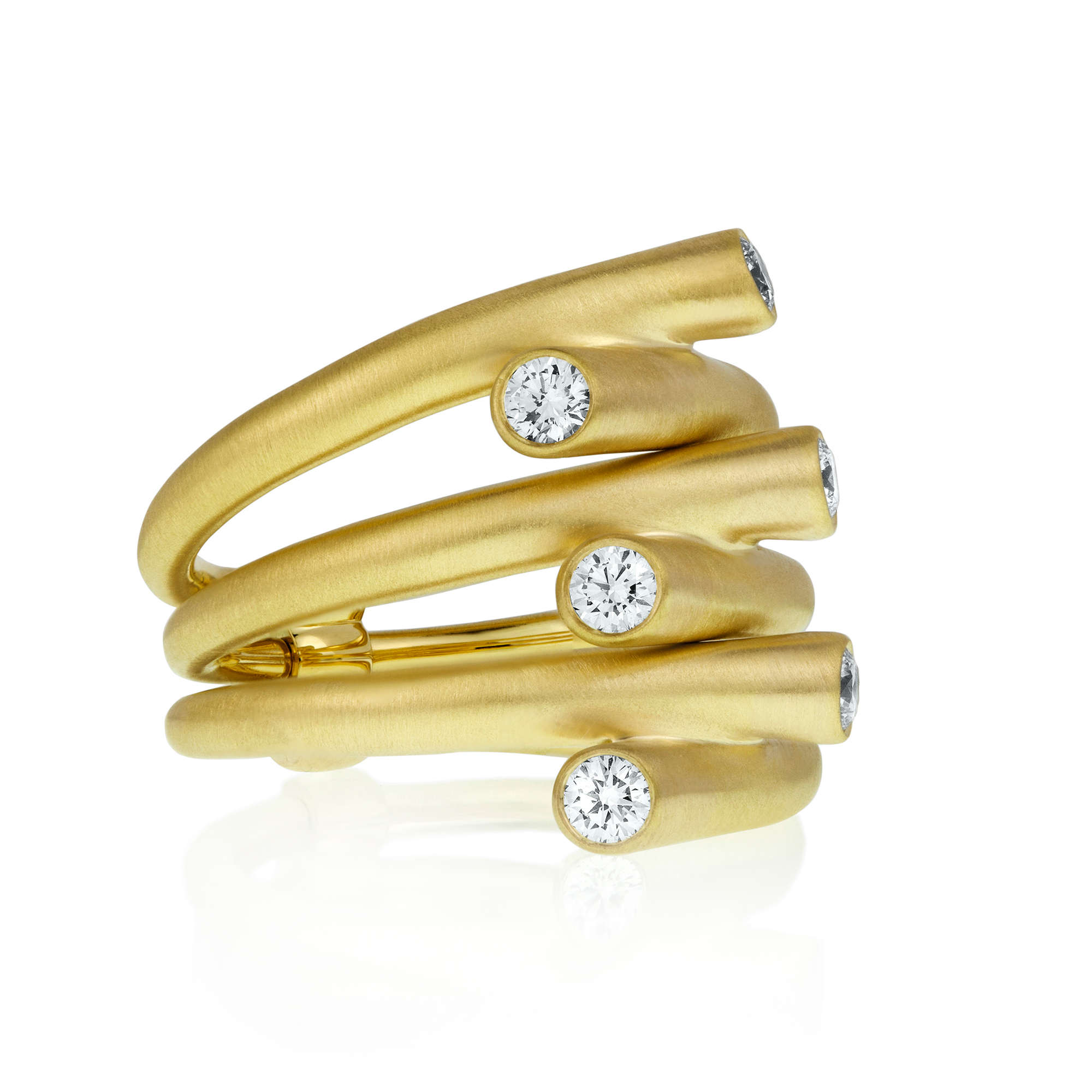Carelle Diamond Whirl Ring