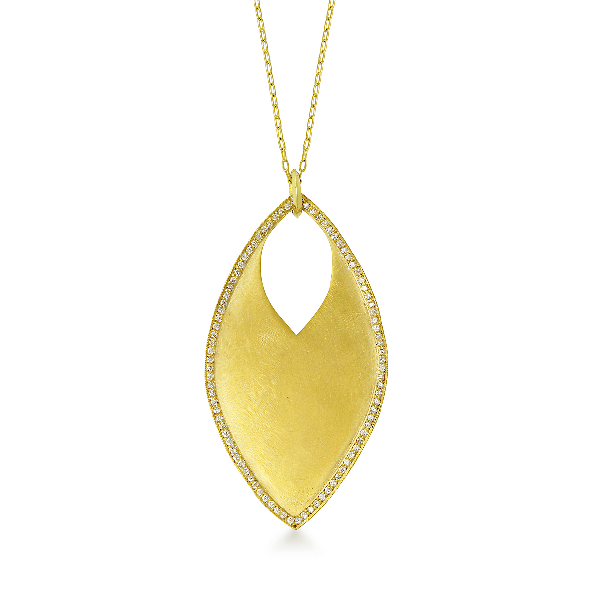 ILA Diamond & Recycled Gold Dalton Necklace