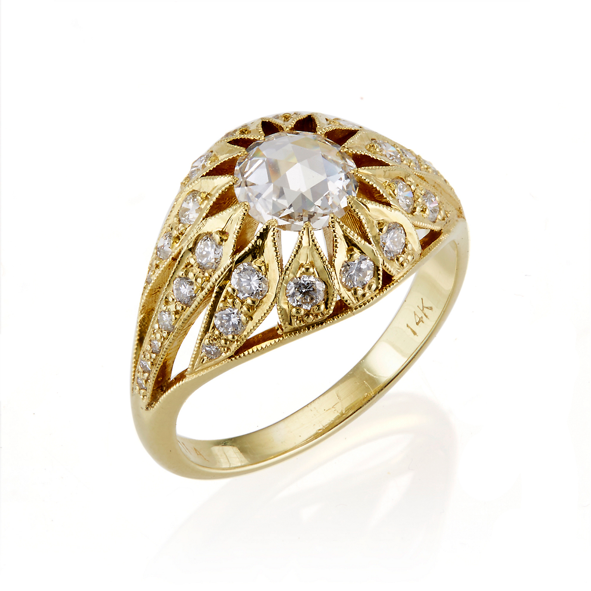 ILA Diamond & Recycled Gold Tamaya Ring