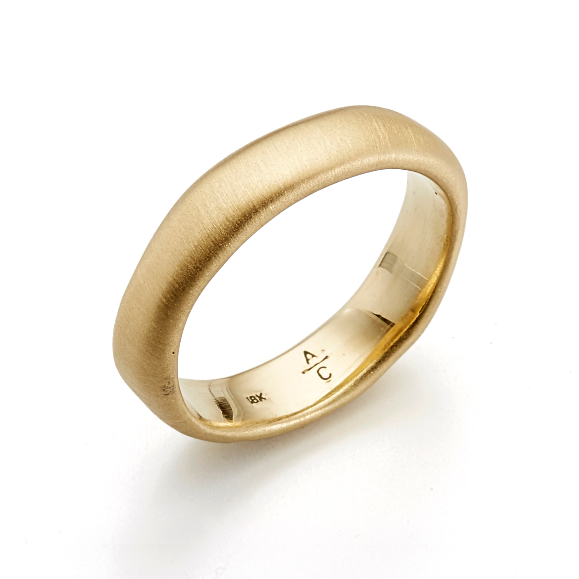 Adel Chefridi Organic Shaped Men's Band Ring