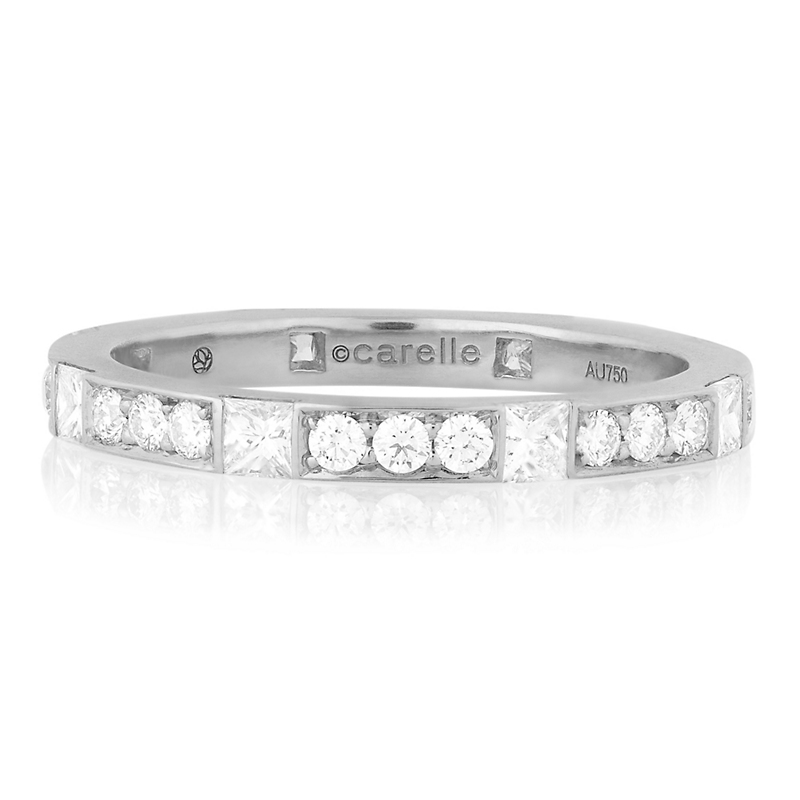 Carelle Pavé Diamond Band Ring