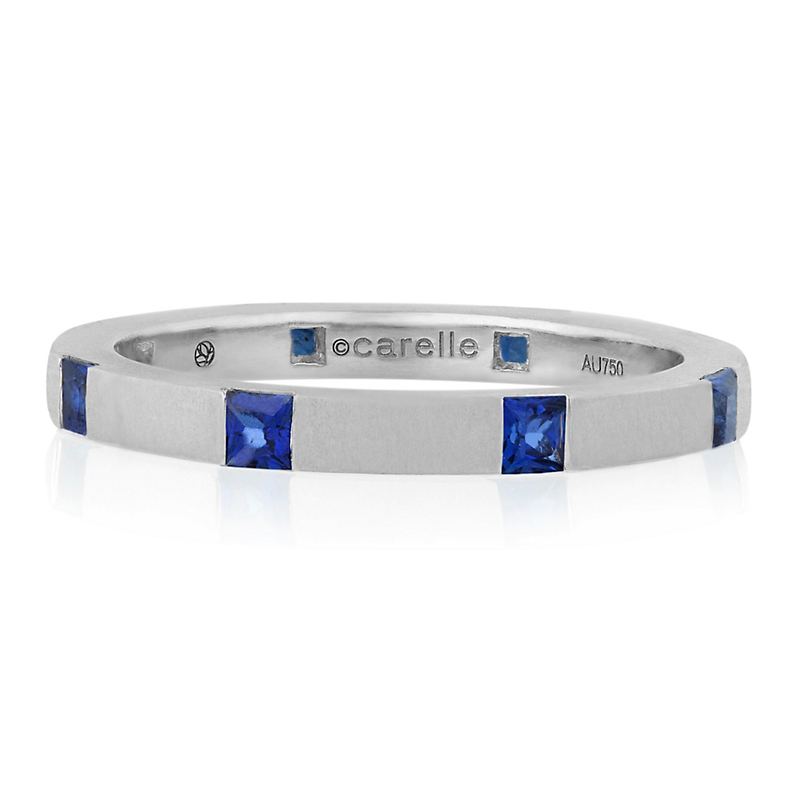 Carelle Sapphire Band Ring