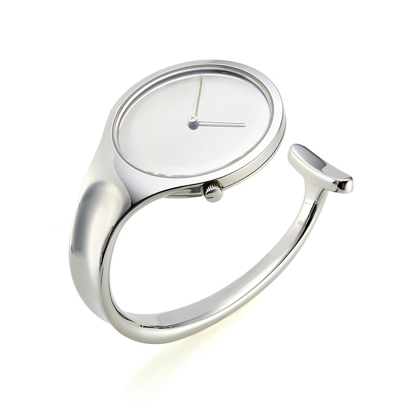 Georg Jensen Vivianna Mirror Silver Dial Watch, Small