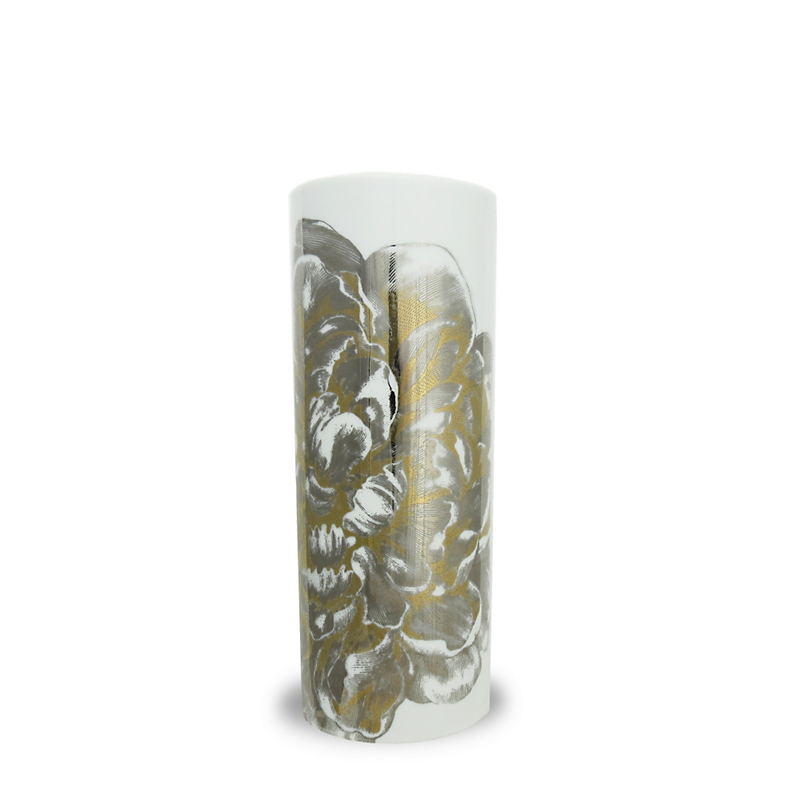 Gold & Platinum Vase, Tall