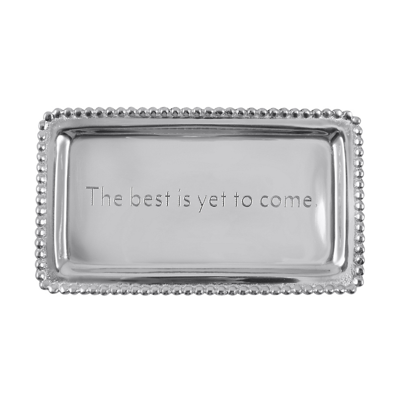 Mariposa 'The Best Is Yet To Come' Tray