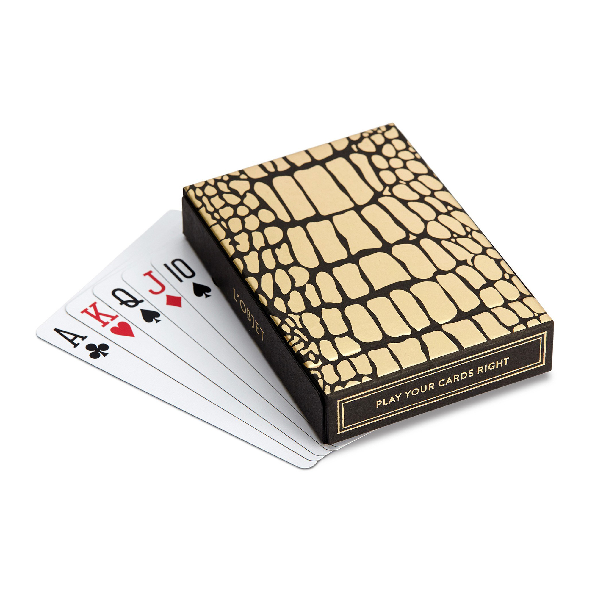L'Objet Croc Box & Playing Cards