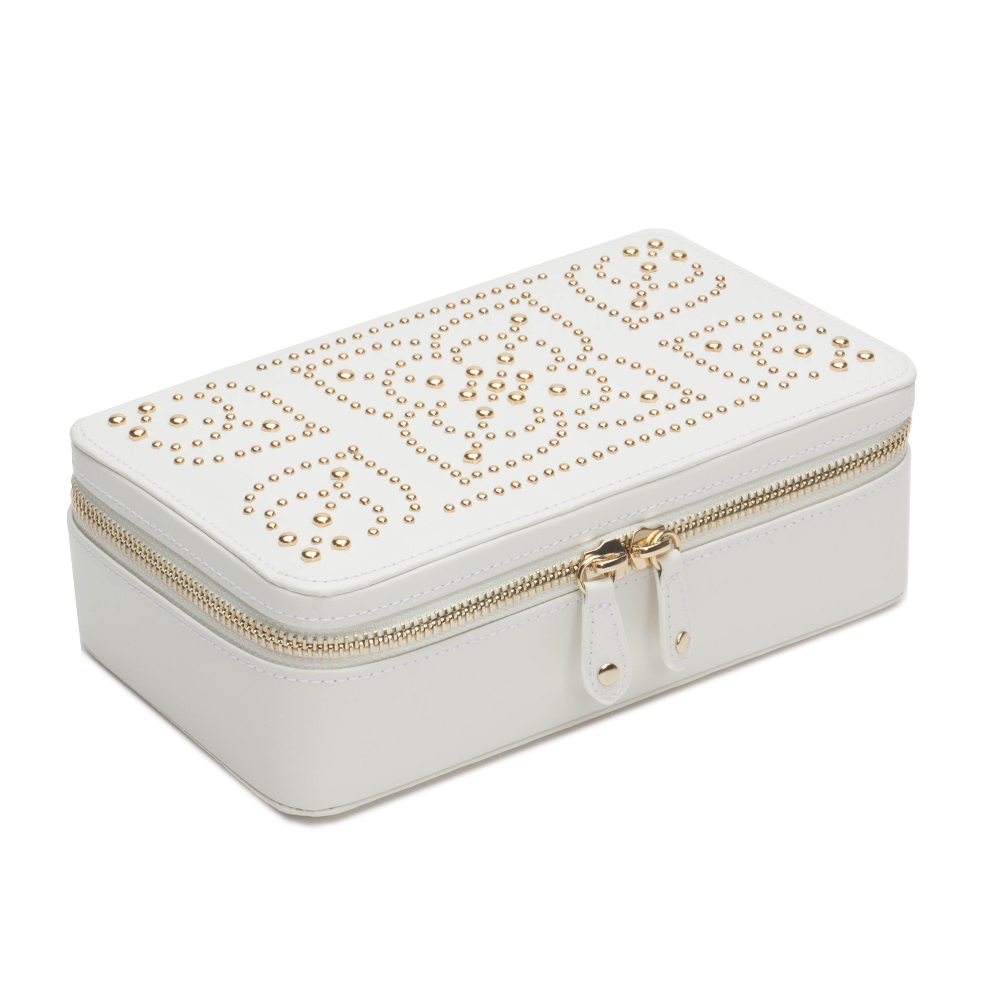 Wolf Marrakesh Zip Case, Cream