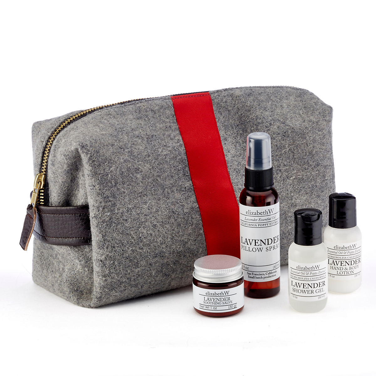 E. Wightman & Co Luxe Dopp Kit
