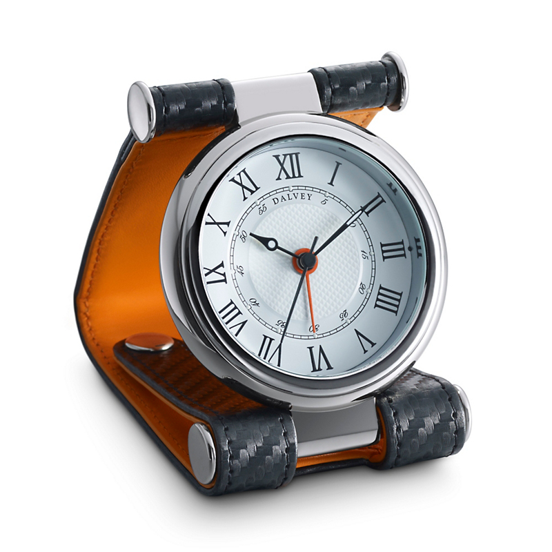 Dalvey Cavesson Clock, Orange