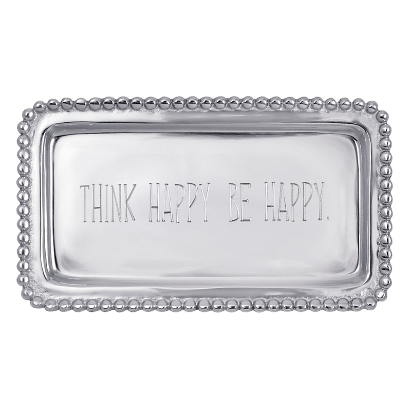 Mariposa 'Think Happy Be Happy' Tray