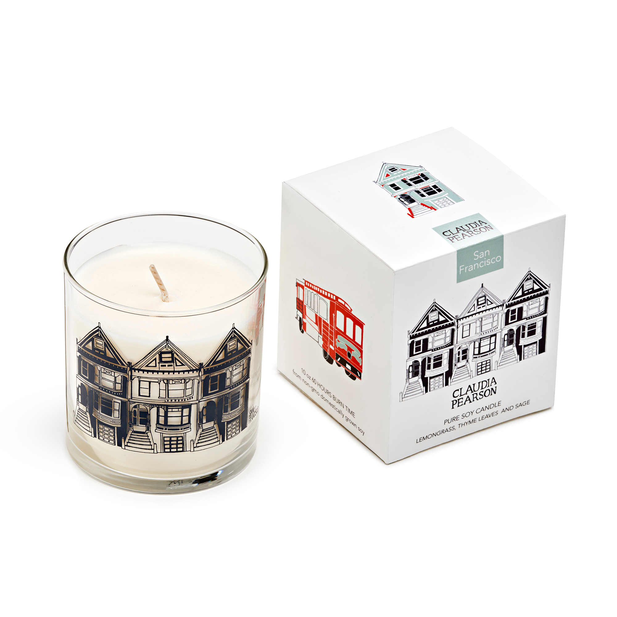 San Francisco Candle