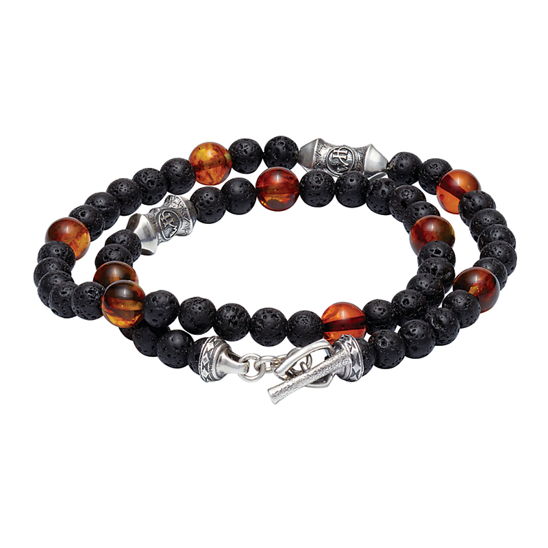 William Henry Amber Tether Bracelet