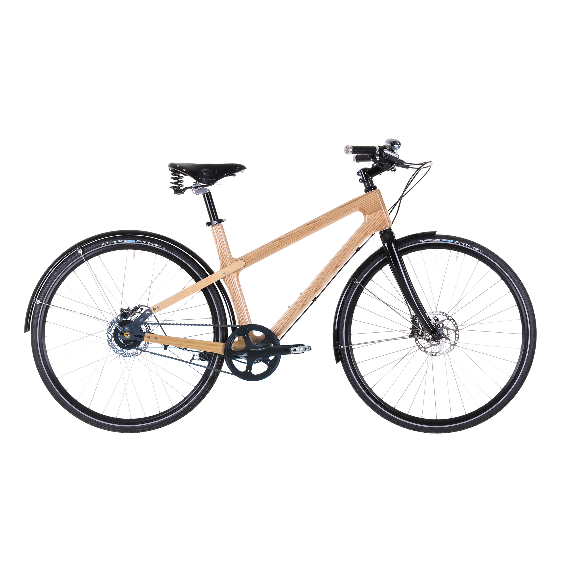 Materia Bikes City Bike Grace, Ash Wood