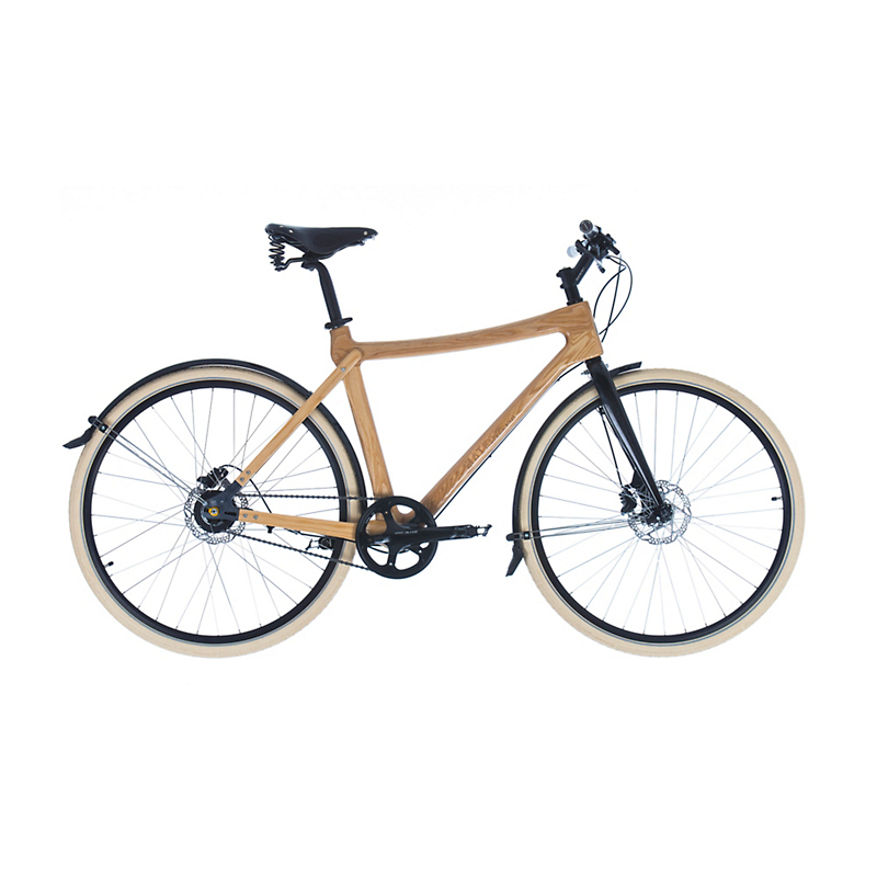 Materia Bikes City Bike Gusto, Ash Wood