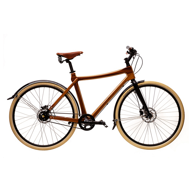 Materia Bikes City Bike Gusto, Redwood