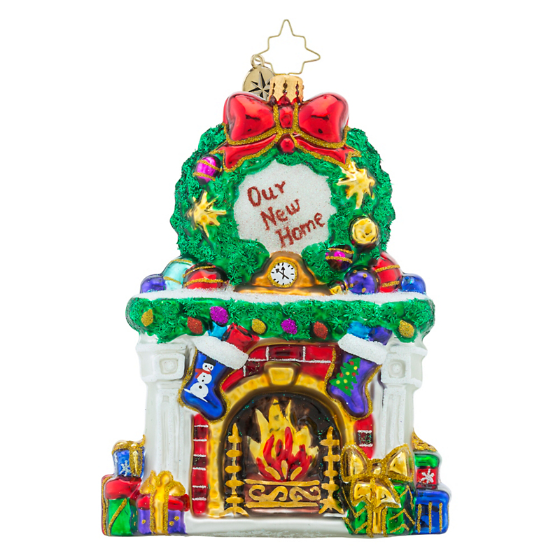 Christopher Radko Beautiful Blaze Christmas Ornament