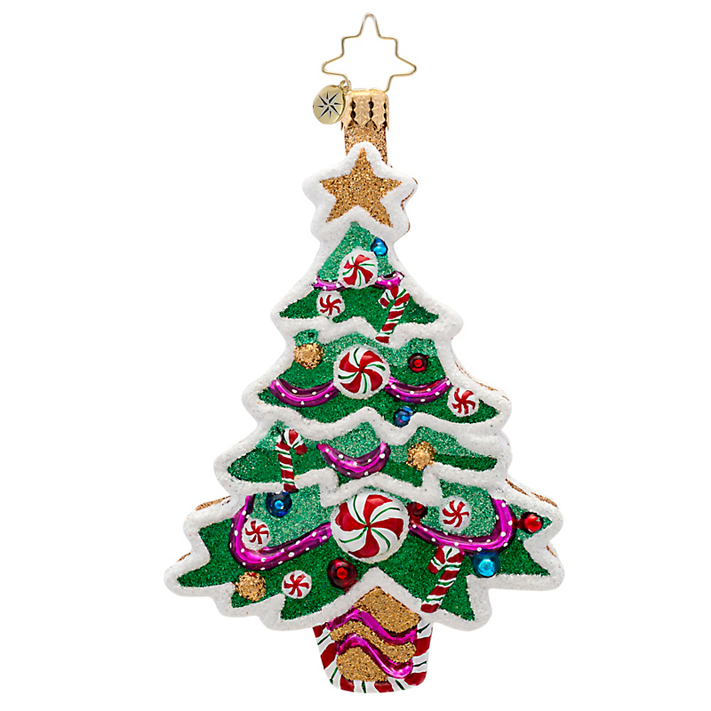 Christopher Radko Sweet Tooth Tree Christmas Ornament