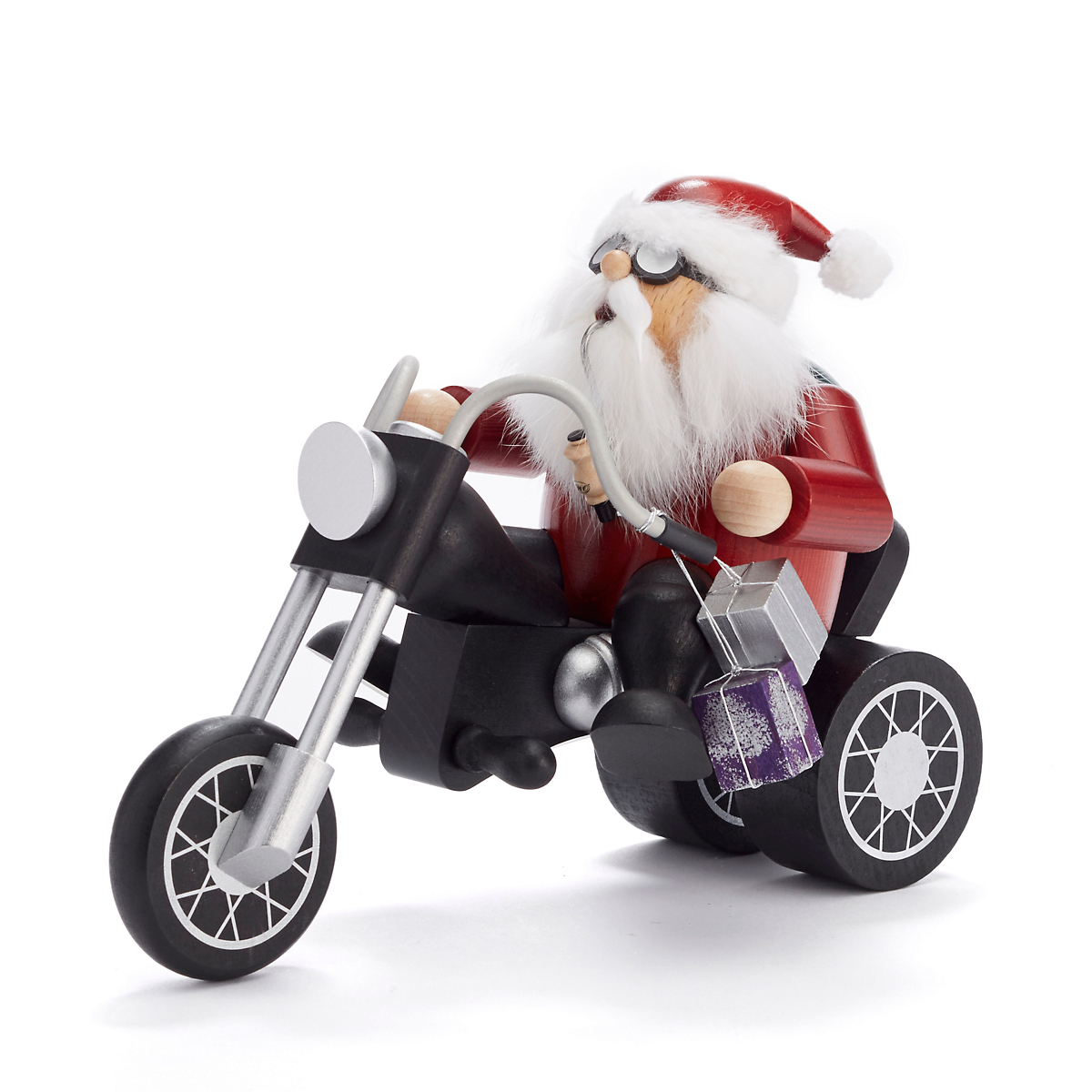 Kwo  Motorcycle Santa Smoker