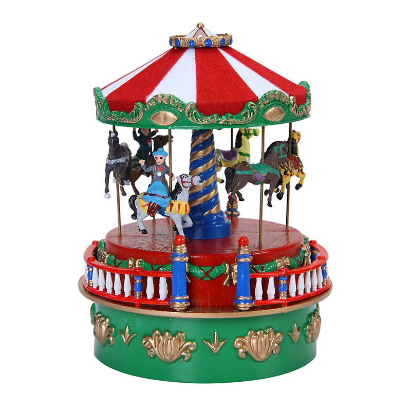 Mr. Christmas  Mini Carousel Musical