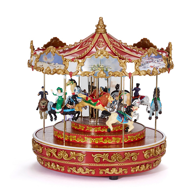 Mr. Christmas Triple Decker Carousel Musical