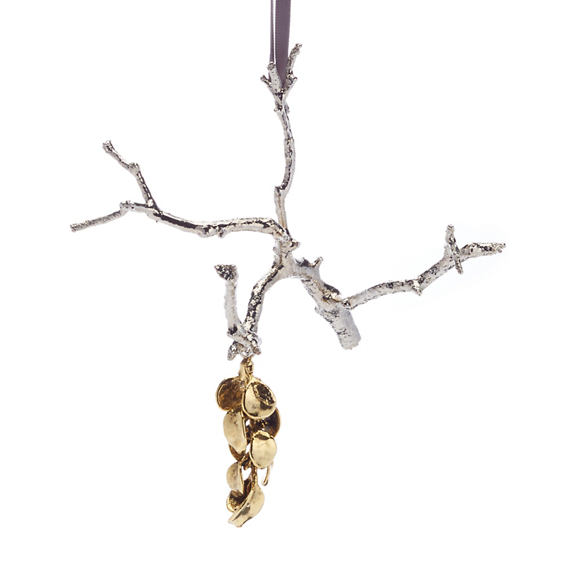 Manzanita With Mistletoe Christmas Ornament