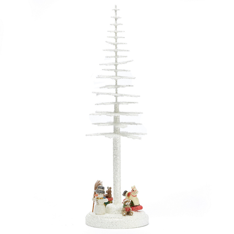 Ino Schaller White Tree with Toys