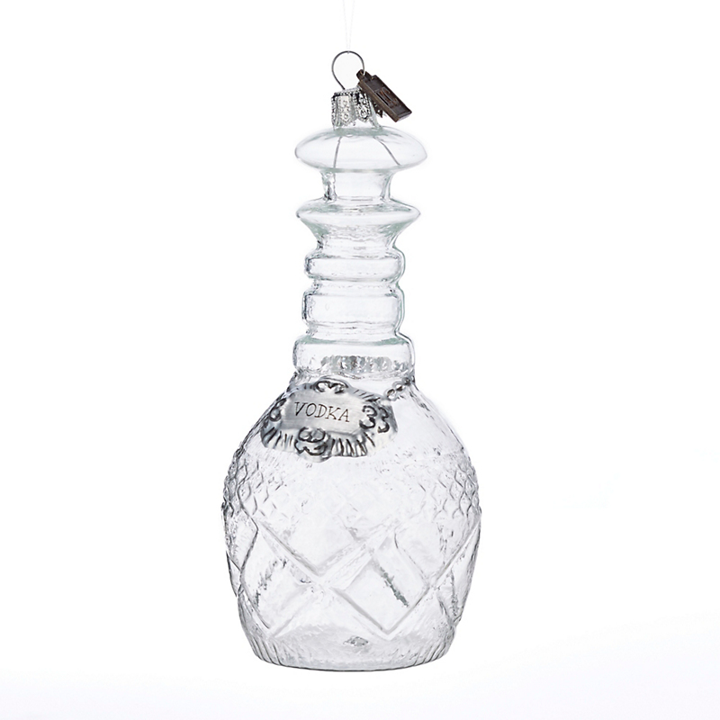 Eric Cortina Vodka Decanter Christmas Ornament