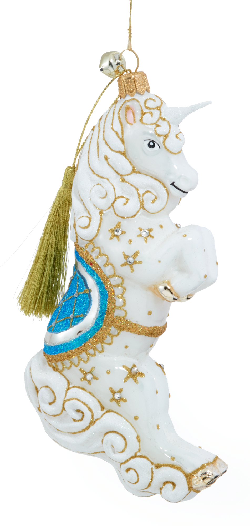 Jinglenog Eunice Unicorn Christmas Ornament