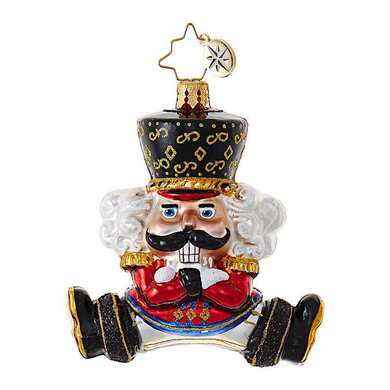 Christopher Radko Little Bolshoi Nutcracker Christmas Ornament