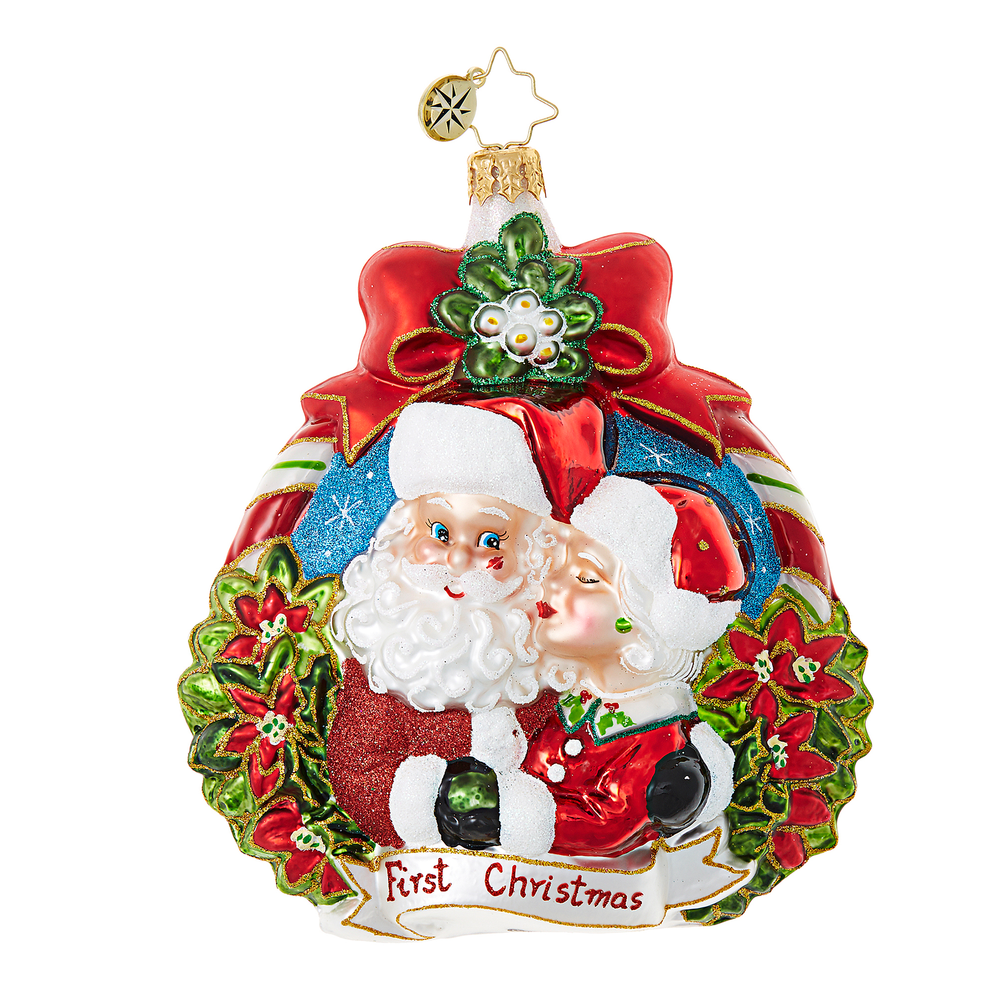 Christopher Radko Our 1st Xmas Christmas Ornament