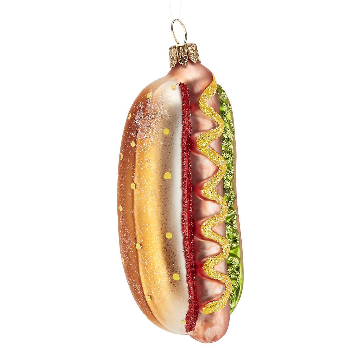 Hot Dog Christmas Ornament