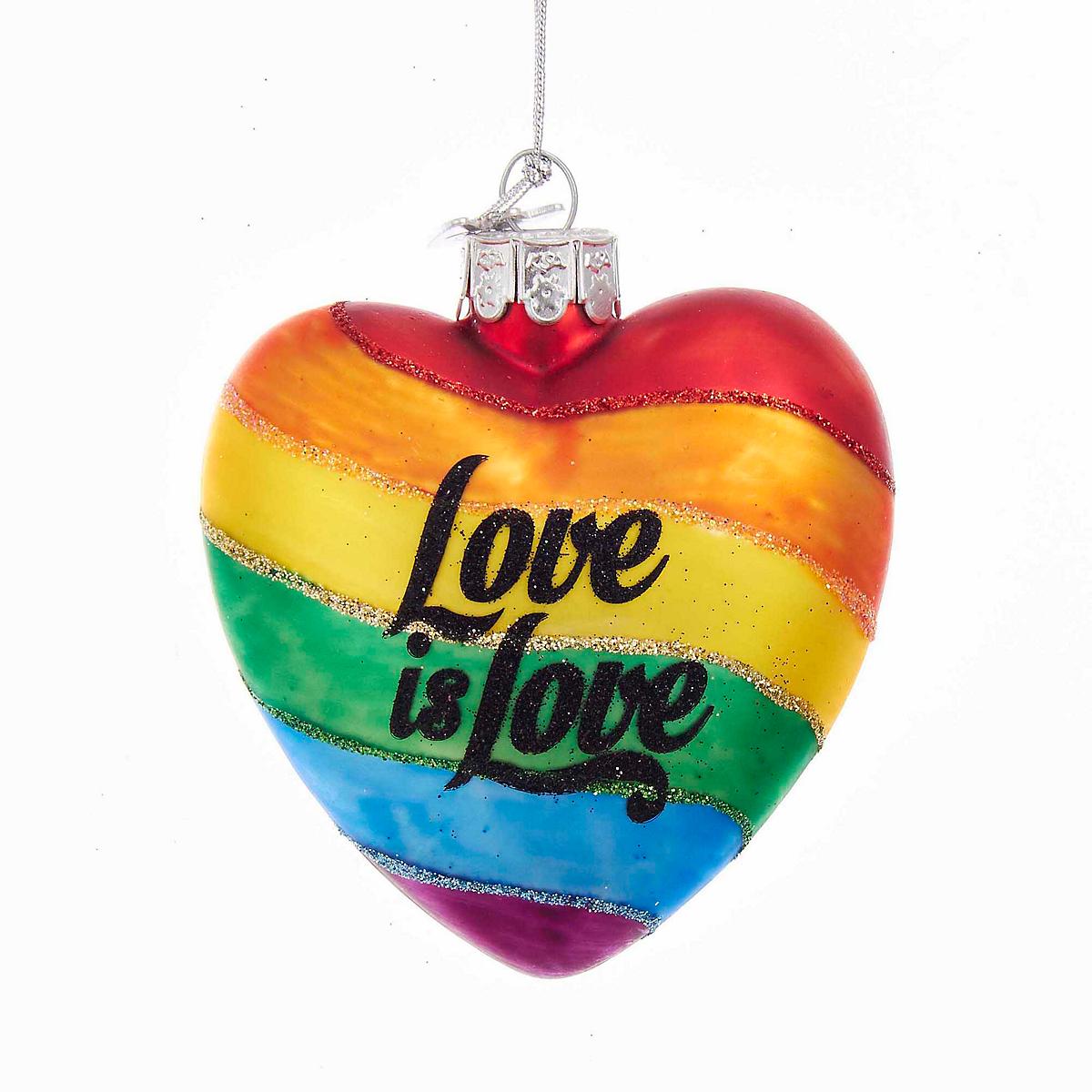 love is love heart ornament gump 39 s. Black Bedroom Furniture Sets. Home Design Ideas