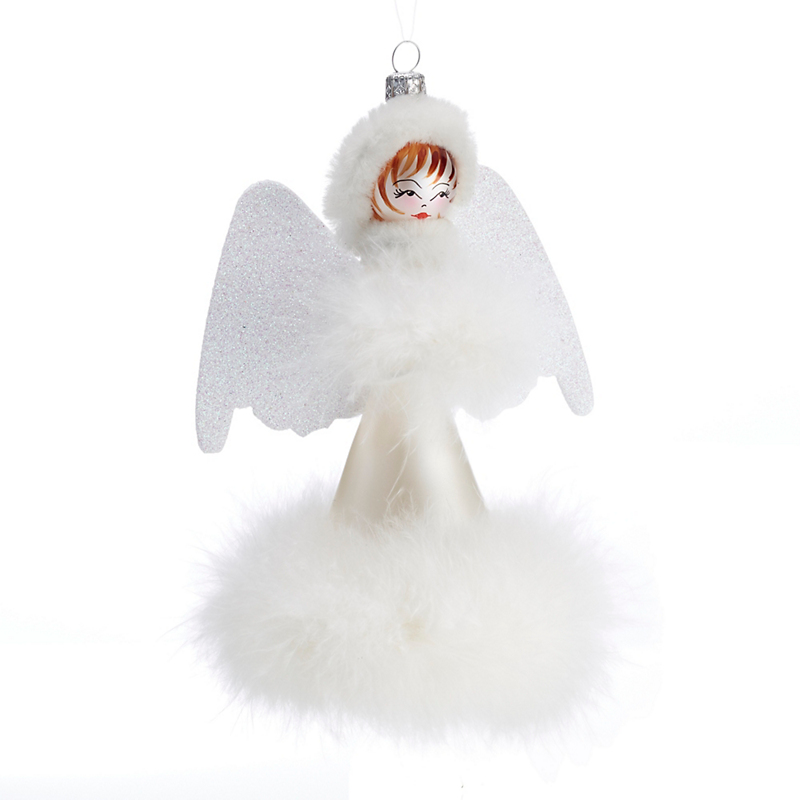Winter Angel Christmas Ornament