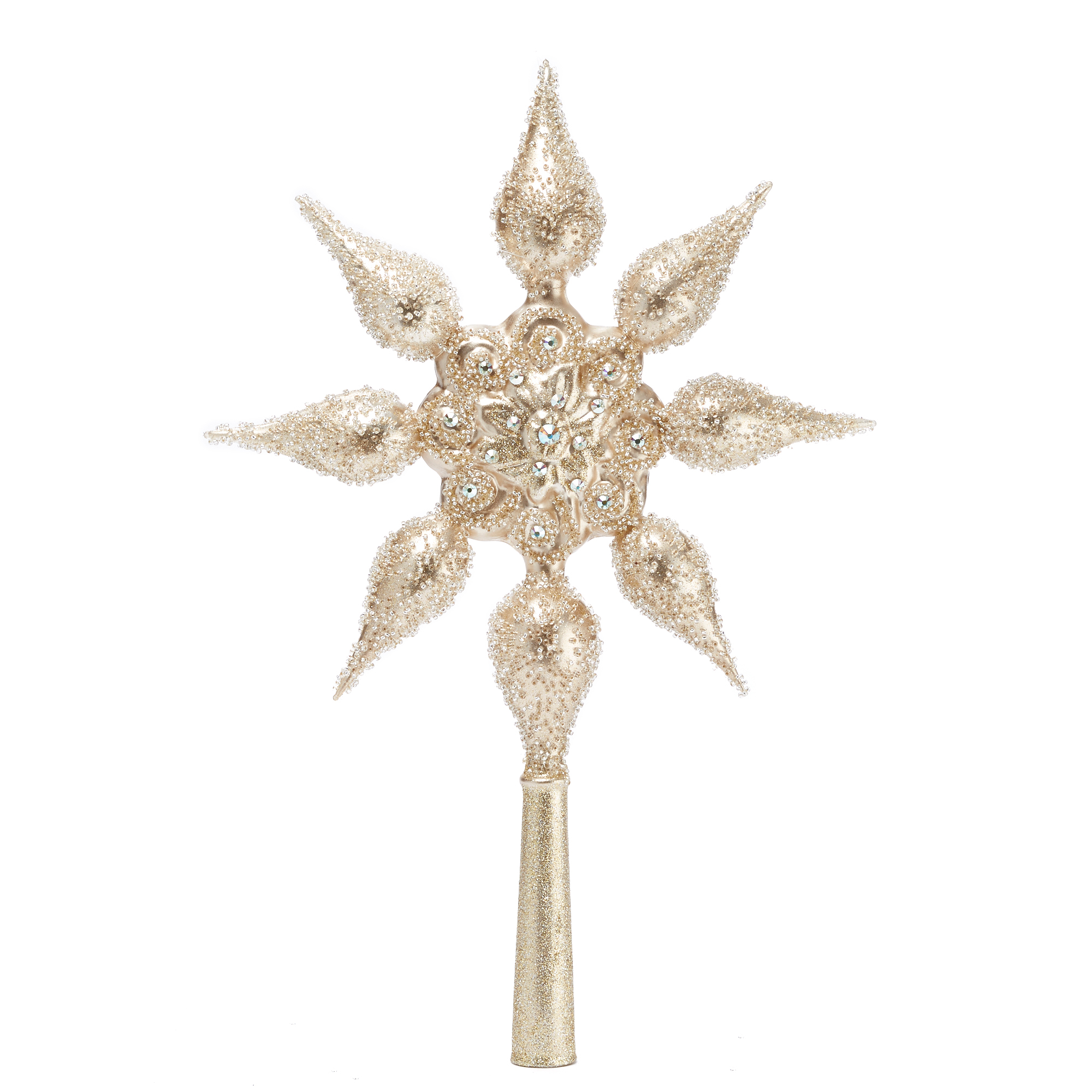 Swarovski 8-Point Star Topper Platinum