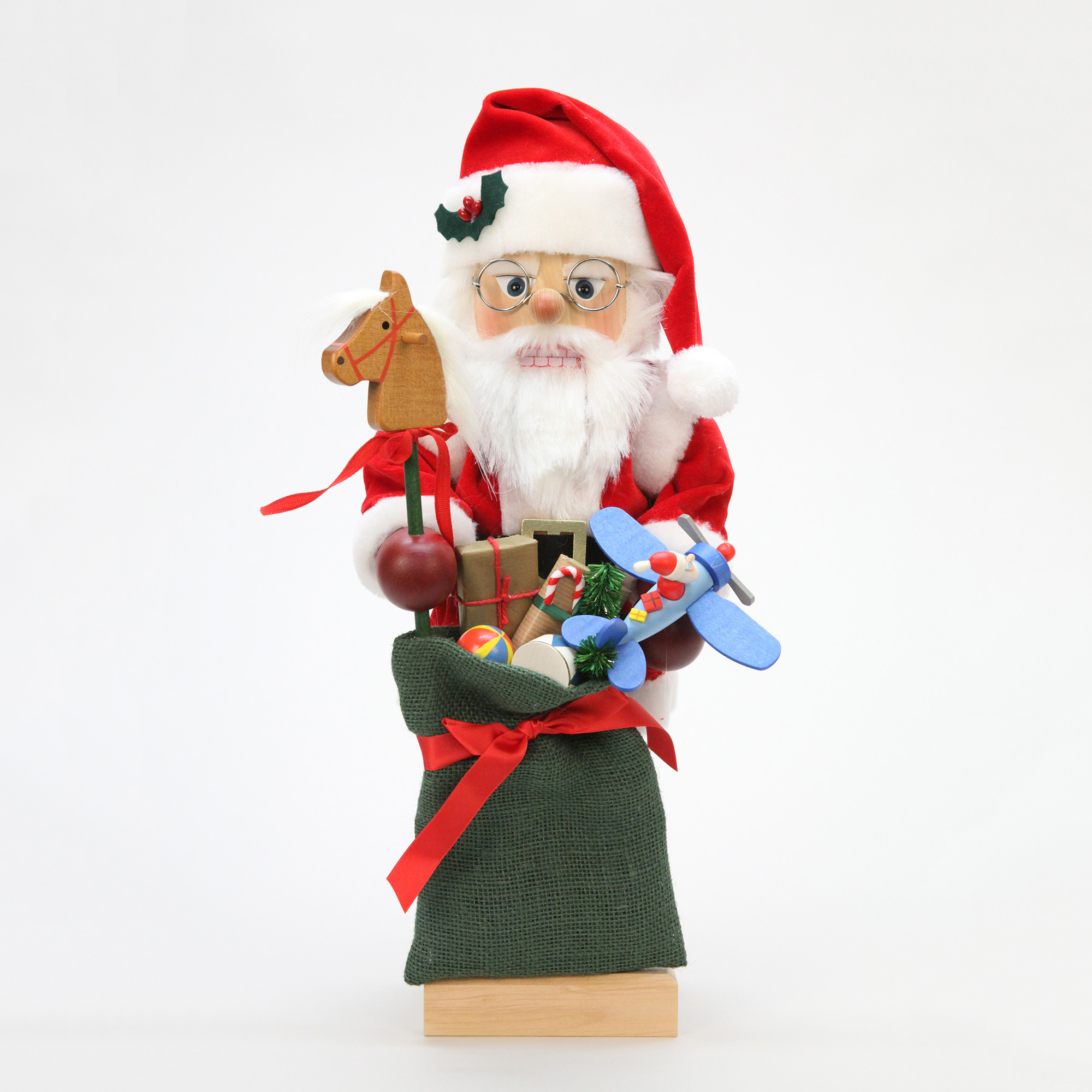 Christian Ulbricht Santa with Bag of Toys Nutcracker