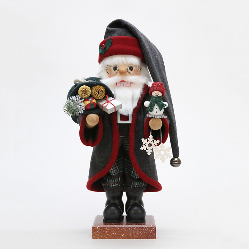 Christian Ulbricht Father Frost with Snowman Nutcracker